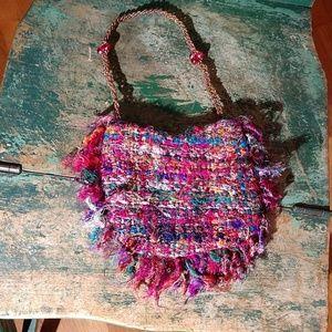 Mini Colorful Tweed Bag